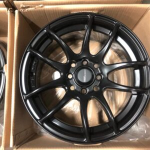 15″Work emotion Black mags 4 holes PCD 100-114