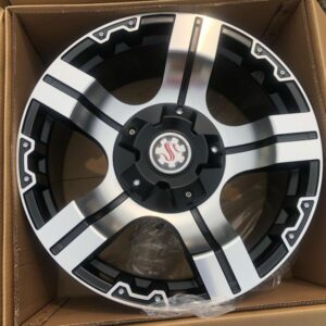 20″ Scarlet Stw510 Polish bnew mags 6Holes PCD139