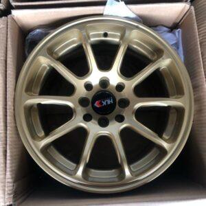 15×8 ZE40 HLK stance magwheels 4Holes Pcd100 n 114 Gold