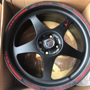 17 Jh3310 Regamaster black Magwheels 4Holes pcd 100 Bnew