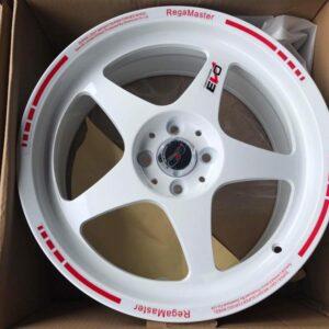 15 Jh3310 Regamaster white Magwheels 4Holes pcd 100 Bnew