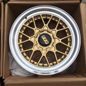 15×8 offset 10 BBS B2 Gold design mags 4Holes pcd 100 n 114