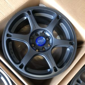 15 TE037 Dura 533 Gunmetal Brandnew magwheels 4holes pcd 100 and 114