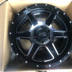 20 XD Fusion Original Magwheels 6Holes PCD139