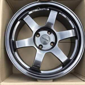 17 Rota Grid 2 Hyperblack mags 4Holes pcd 108 for Ford ecosport