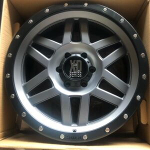 20 Machete XD Satin Gray Series Magwheels 6Holes pcd 139 Orig m