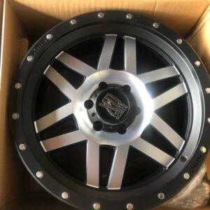 20 Machete XD silver Series Magwheels 6Holes pcd 139 Orig