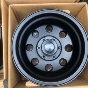 15 x10 American Racing Baja Black 6Holes pcd 139 Bnew orig magwheels