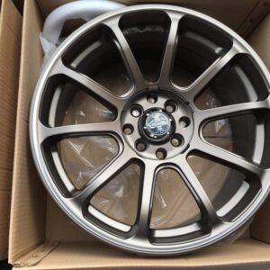 17″ Versante STW497 advan rz design Bronze 4Holes pcd 100-114 bnew magwheels