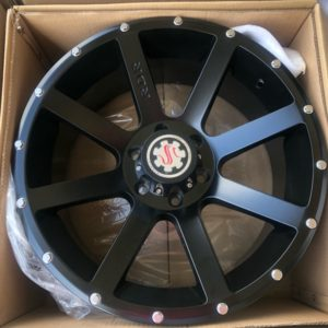 20″ Scarlet RD8 Black bnew mags 6Holes PCD139