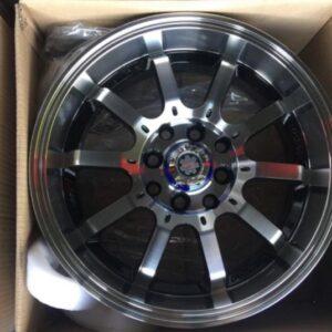 16″ Scarlet stw455R Polish deep dish Magwheels 4Holes pcd 100 n 114