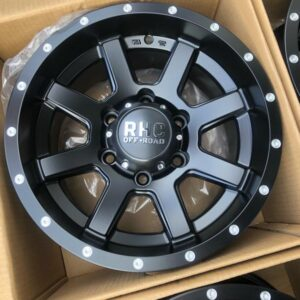 15″ RHC offroad P5294 Black bnew mags 6holes pcd 139