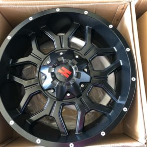 20″ Havok H106 Bnew mags 6Holes PCD 139