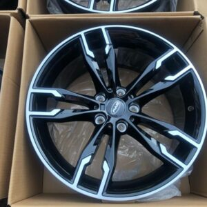 19″ Byw Staggered 1257 Bnew magwheels 5Holes pcd 120
