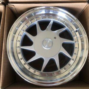 16″ Oz racing Silver Magwheels 4Holes pcd 100 n 114