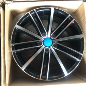 18 Byw D292 Black Magwheels 5Holes pcd 112 bnew