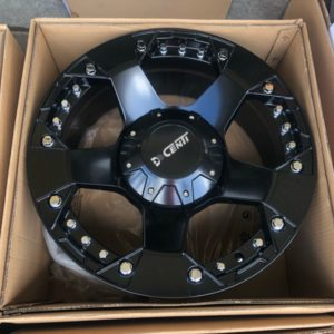 20″ Dcenti DW995 FullBlack Bnew mags 6Holes PCD 139