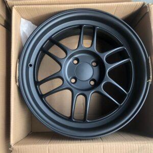 16″ Rota TFS301 4Holes pcd 100 Black Bnew mags