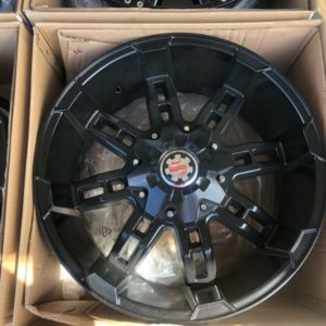 20″ Scarlet H103 Full Black new mags 6Holes PCD 139