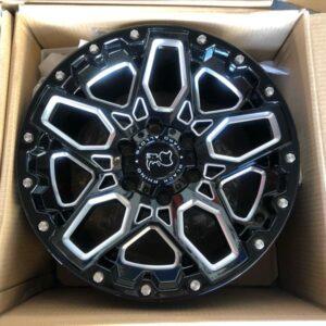 17″ Blackrhino Shrapnel 6Holes pcd 139 magwheels