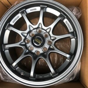 15×7 CE28 KS133 4Holes pcd 100 n 114 Gray  Mags bnew