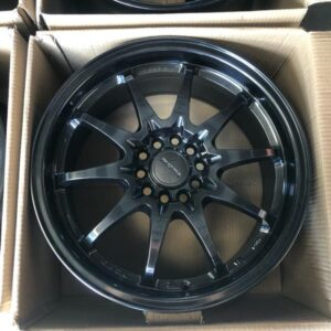 18″ Rota Fighter 10 Hyperblack 5Holes pcd 100-114 Bnew mags