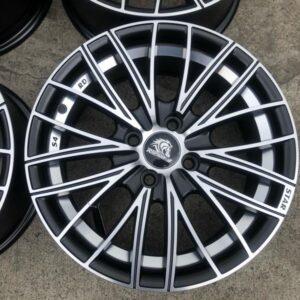 15 Rapid Dash RDS4 Black Polish Bnew 4Holes pcd 100 magwheels