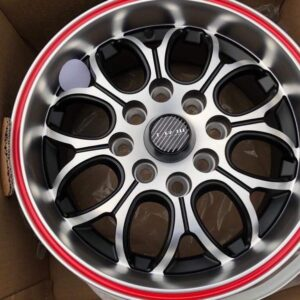 13 TRW Wheels code L075 4Holes pcd 100 n 114 Brandnew Red lip