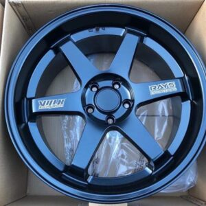 19 TE37 Design Black 5Holes pcd 114 code Stw457 Brandnew magwheels
