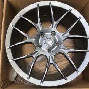 17 Hunter wheels Mags Code A1121 5Holes pcd 114 Bnew Gunmetal
