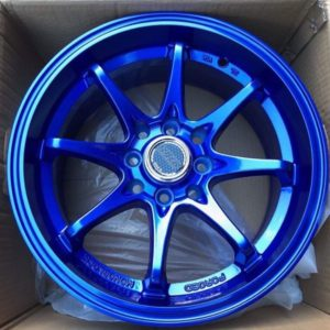 15 Volkrays Blue V42 Magwheels 4Holes pcd 100 n 114 brandnew