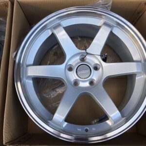 18 TE37 Silver Dcenti STW457 Mags 5Holes pcd 108 fit Focus and Audi