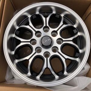 13 TRW Wheels Polish Black code L075 4Holes pcd 100 n 114 Brandnew