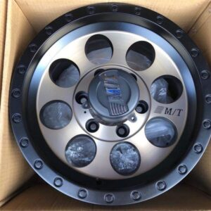 15 MT Bronze Magwheels Code QC812 6Holes pcd 139 Brandnew