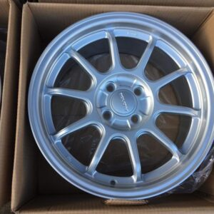 16 Rota Racing Silver 4Holes pcd 100 Bnew mags