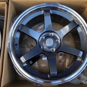 18 TE37 Gunmetal Dcenti STW457 Mags 5Holes pcd 108 fit Focus and Audi