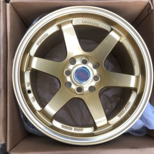 15×8.25 width TE37 RT Gold Concave mags 4Holes pcd 100 n 114