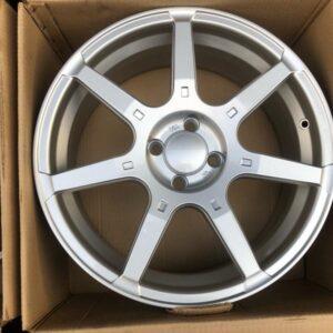 17 Rota GTR mags Silver 4Holes pcd 100