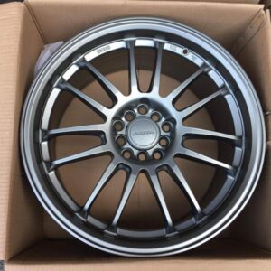 18 Rota SVN Matte gray 5Holes pcd 100 and 114