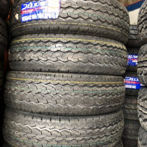 195 R14 Delium Power Ranger Tire Brandnew 8ply