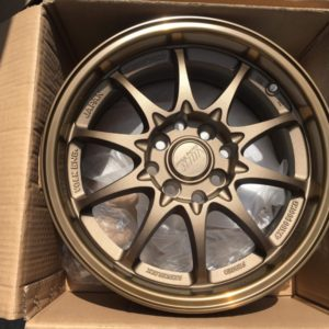 15 Volks Ce28 R82 Sand Bronze Mags 4Holes pcd 100 n 114