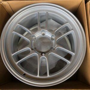 18″ RPF1 Silver Magwheels 6Holes PCD 139 Bnew