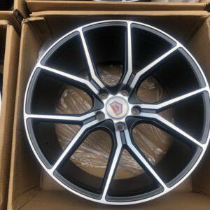 19 Mags 57fxx design black polish 5Holes PCD 114 code 59783