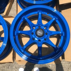 14 Vip Mags code 82039 4Holes pcd 100 n 114 Blue