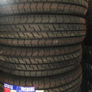 185 R14 Delium Power Saver Tire Brandnew 8ply