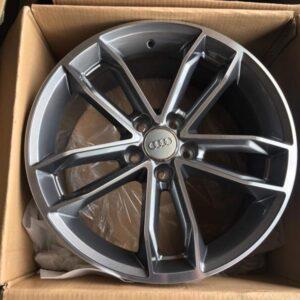 18″ Audi Mags Gunmetal code 10643 5Holes pcd 112