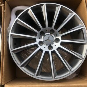 18 Benz Mags code 10993 5Holes pcd 112 Gunmetal bnew