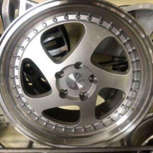 18″ Rotiform silver magwheels 5Holes pcd 114