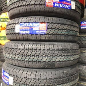195 R15 Delium Power Saver2 Tire Brandnew 8ply
