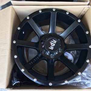 18″ RDR RD8 Black bnew mags 6Holes PCD139